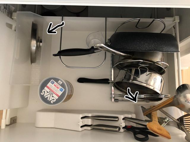 キッチン引き出し収納