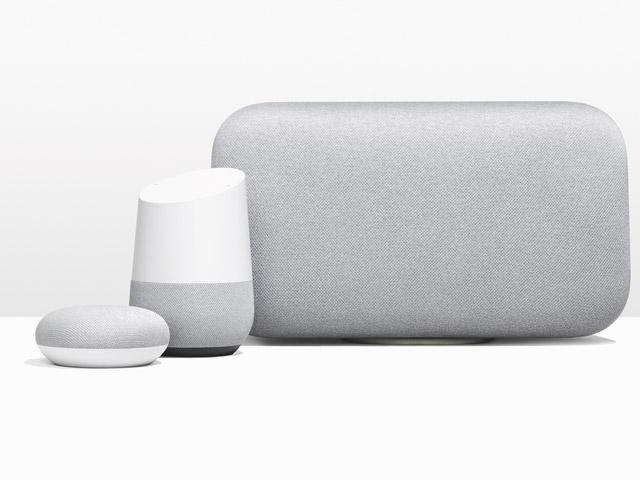 3種類のGoogle Home