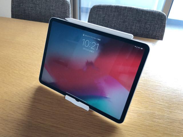 iPadとタブレットスタンド
